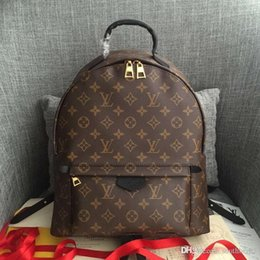 Louis backpack online shopping - LOUIS VUITTON MONOGRAM BACKPACK Women Leather Handbags MICHAEL KOR Shoulder Bags Tote Messenger Bags Travel Bags Satchel LOUIS