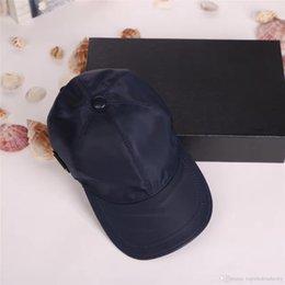 Großhandel Mode lässig männer und frauen hut hochwertige leinwand ball cap sport freizeit sonnenhut mit box