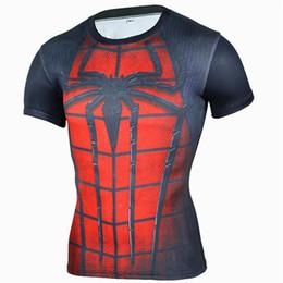 4xl Compression Shorts Australia - New Fashion T-shirt Men Short Sleeve compression tight Tshirts Shirt S- 4XL Summer Clothes Free transportation
