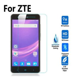 zte phones NZ - ZTE V8 LITE BLADE A506 A612 BLADE A510 S6 V9 BLADE A610 A602 Tempered Glass Phone Screen Protector