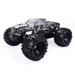 Toptan satış RCtown ZD Racing MT8 Pirates3 1/8 2.4G 4WD 90km / saat Elektrik Fırçasız RC Araba Metal Şasi RTR