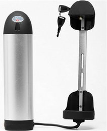 $enCountryForm.capitalKeyWord Australia - 36V bottle battery 36V 18Ah 800W electric bicycle battery send 2A charger in black kettle water bottle tube case in China stock