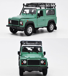 $enCountryForm.capitalKeyWord Australia - 1:24 scale diecast metal model, Defender advanced alloy car toy,2 open doors toy vehicle,Precious collection model free shipping