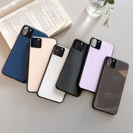 cheap iphone backs NZ - 2020 have logos cell Phone Cases new colors simple stylish soft TPU cheap back covers for IPhone 11 Pro Max X Xs XR Xs Max 6 6s 7 7p 8 8plus