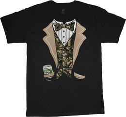 5757c6ad1 Big and Tall t-shirt funny redneck camo beer tuxedo bachelor party tee Men  Women Unisex Fashion tshirt Free Shipping