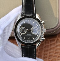 men luxury watch waterproof Australia - luxury mens watches 44.25mm designer watches mechanical Stainless Steel movement automatic waterproof watches men sports watch Leather strap