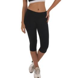$enCountryForm.capitalKeyWord Australia - Women's High-waist Hip Stretch Running Fitness Yoga Pants Seven-minute Pants Gym Workout Leggings Sports 40AP10 #996773