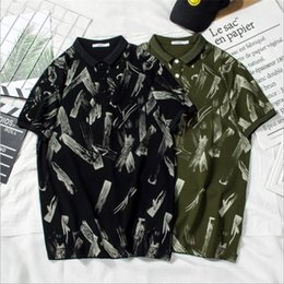 $enCountryForm.capitalKeyWord Australia - Fashion Designer Polo For Mens T shirts Summer Brand Mens Polo Shirts Short Sleeve Men T Shirts High Quality Casual T Black and Green color