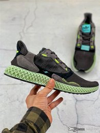 beautiful canvas shoes Australia - 2019 Hender Scheme Mens ZX 4000 Futurecraft 4D running shoes Designer Sneaker Beautiful sports jogging shoes