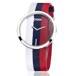 $enCountryForm.capitalKeyWord Australia - Fashion hollow out women Watch DOM brand 2018 ladies Colourful watchband waterproof quartz watch hot selling
