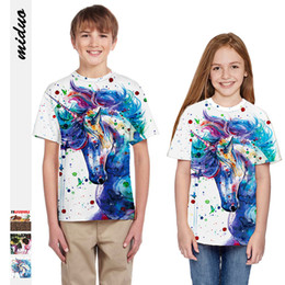 $enCountryForm.capitalKeyWord Australia - explosion digital print girls t-shirt children short sleeves new men and women children's cute sports shirt wholesale