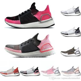 Shoe Laces Brown 36 Australia - 2019 Ultra Boost 19 Men Women Running Shoes Ultraboost 5.0 Laser Red Dark Pixel Core Black Ultraboosts Trainer Sport Sneaker Size 36-47