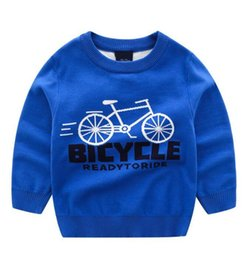 bicycle sales NZ - Fall and Winter 2019 New Best-selling Boy Bicycle Jacquard Double Thickened Sweaters Factory Direct Sales