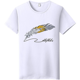 T Shirts New Words Australia - Wholesale Hot sale popular SS19 new Men's T-shirt Fashion Casual with words Printing OEM Custom Made oversize High quality summer style