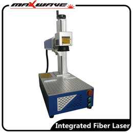 fiber camera NZ - 20W 30W 50W Small size fiber laser marking machine for watches camera auto parts buckles pen stainless steel