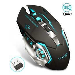 $enCountryForm.capitalKeyWord UK - ice Keyboards Professional Silent Gaming Wireless Mouse 2.4GHz 2400DPI Rechargeable Wireless Mice USB Optical Game Backlight Mouse For L...