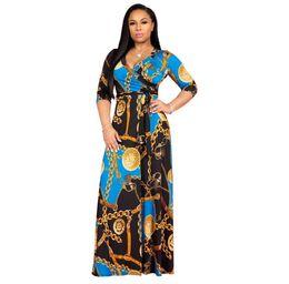 $enCountryForm.capitalKeyWord UK - African Dresses for Women Printing Dashiki Dress Robe Femme Casual Indian Clothing Plus Size Sundress Wholesale Clothes