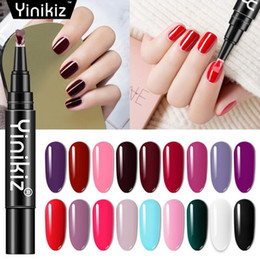 9dd6ff1332 One Step UV Gel Nail Polish Pen 3 In 1 Nail Gel Varnish Soak Off UV LED Gel  Po