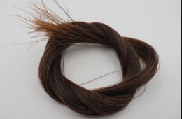 violin bow hair Australia - 1 beam of 7G bow hair   horsetail hair   natural Mongolian horsetail hair 80-85cm
