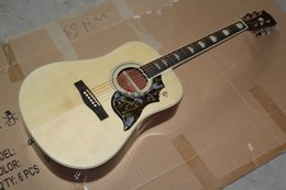 New body acoustic guitars online shopping - new hummingbird DOVE inch acoustic guitar can add fishman guitar