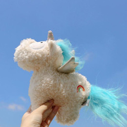 $enCountryForm.capitalKeyWord UK - 20170726 The Hot Sales Unicorn Cartoon Doll Angel Wings Plush Toy Fluffy Animals High Quality Festival Gift Horse for Children