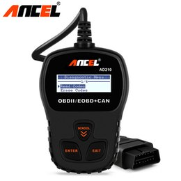 car code obd Australia - Ancel Original OBD2 Car Diagnostic Tool AD210 OBD 2 Code Reader Automotive Scanner More Accurate than ELM 327 Diagnostic Tool