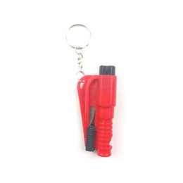 China Factory Direct key buckle safety broken window Oracle Car simple installation mini emergency escape Tool safety hammer cheap pvc hammer suppliers