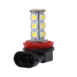 $enCountryForm.capitalKeyWord UK - 1pc H11 H8 H9 18 LED 5050 SMD Bulb 12V Car Day Driving Fog Headlight Xenon White Lamp