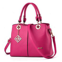 $enCountryForm.capitalKeyWord Australia - Hot Women Bag Handbag Fashion Han Edition Sweet Lady Fashion Female Bag Worn One Shoulder Black red pink white blue red Win Bag