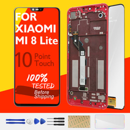$enCountryForm.capitalKeyWord Australia - Xiaomi Mi 8 Lite LCD Display WITH Frame 10 Touch Panel Screen Mi 8 Youth 8X LCD Digitizer Replacement Repair Spare Parts Test