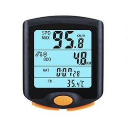 Chinese  813 Wireless Speedometer Waterproof Bicycle Computer Mountain Road Bike odometer cycling computer Stopwatch Digital Backlight #547824 manufacturers
