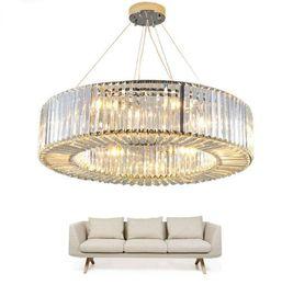 $enCountryForm.capitalKeyWord Australia - Luxury Modern Chandelier Lighting Round Crystal Pendant Light Fixtures Living Dining Room LED Lustres De Cristal