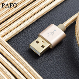 Iphone Leads Australia - 3 Feet 1M Metal Connector Micro USB Cable Data sync Charging Cable Unbroken Stronger charging Lead For Samsung HTC Android smart phone