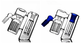 $enCountryForm.capitalKeyWord NZ - Top Sale 14MM 18MM Joint Ash Catcher Blue Transparent 45 Degree Angle colorful Water Pipe Glass Bong Hookahs Rigs Bong Smoking Pipes