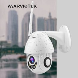 Onvif Camera Wifi Ptz Australia - IP Camera WiFi 1080P Wireless PTZ Speed Dome CCTV Camera Outdoor Home Security Video Surveillance ipCam Camara exterior IR Onvif
