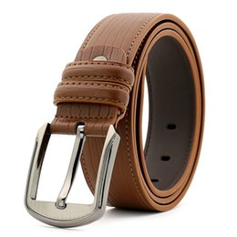 women s genuine leather belts UK - A009 Designer Belts for Mens Belts Designer Belt Cowhide Belt Leather Business Belts Women Big Buckle with Box