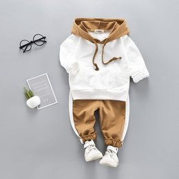 Kids Suits For Girls Australia - Children Spring Autumn Toddler Set Outfits Kids Boys Clothes Tracksuit Suits For Girls Clothing Sets Q190523