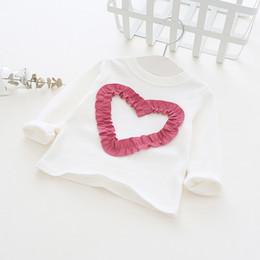 $enCountryForm.capitalKeyWord Australia - Spring Autumn Toddler Baby T Shirts Long Sleeve Cute Lover Princess Tops Girls Clothes Cotton Basic Shirts Rt081