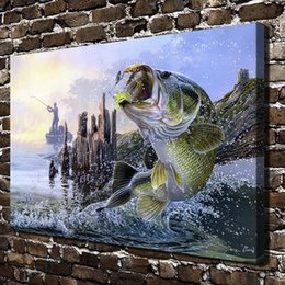 $enCountryForm.capitalKeyWord Australia - Escape From The Big Fish,Home Decor HD Printed Modern Art Painting on Canvas (Unframed Framed)