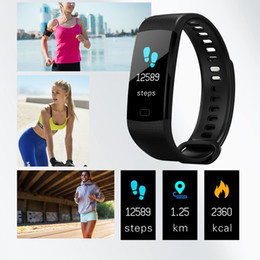 electronics ratings Australia - Y5 Smart Band Watch Color Screen Wristband Heart Rate Activity Fitness tracker Smart Electronics Bracelet VS Xiaomi Miband 2