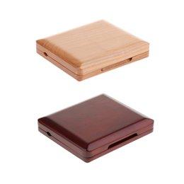 Hautbois en bois Reed Box rouge et bois 6pcs hautbois Reed Case accessoire hautbois Reed Woodwind