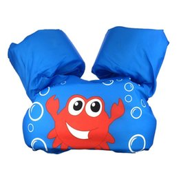 Baby Swim Jacket Australia - Funny Children Swimming Pool Accessories Vest Jackets Kids Water Sports Jacket Baby Learn Swimming Snorkeling Buoyancy Vest