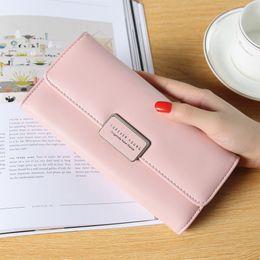 Long Designer Wallet Australia - good quality Fashion Lether Wallets Card Holder Long Purses Money Bags For Women 2019 High Quality Designer Wallet Purse