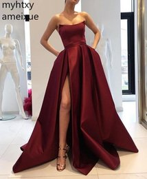 red evening dresses for women Australia - 2019 New Red And Pink Sexy Cheap Evening Dress Formal Dress Scoop Sweep Train A-line Plus Size Evening Gown Dresses For Women