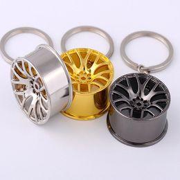Car Tires Chains Australia - Car Keychain Wheel Tire Styling Creative Mini Car Key Ring Auto Car Key Chain Keyring