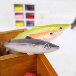$enCountryForm.capitalKeyWord Australia - Creative Fish Shape Ballpoint Pen Kawaii Plastic Ball Pens for School Writing Kid's Novelty Gift Toys Supplies Korean Stationery