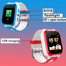 sos smart watch for kids NZ - Children's Smart Watch Intelligent Voice Chat SOS Alarm Emergency Mobile Phone Security Smart Watch for Kids