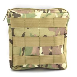 $enCountryForm.capitalKeyWord Australia - 6*6 inch Military Molle Army Pocket Outdoor Sports Bag Pack Outdoor Utility Handbag Medical First Aid Pouch CP Camo #781085