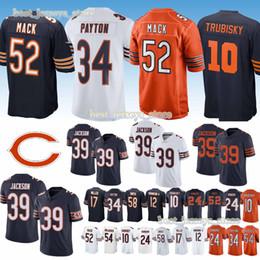 52 Khalil Mack CHICAGO jerseys BEARS 10 Mitchell 39 EDDIE JACKSON 24 Howard  58 Roquan Smit 17 nthony Miller 2019 new jersey High-quality 159ff5d5a