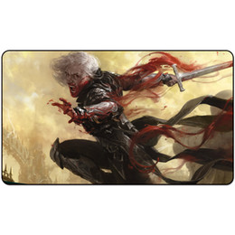 silent mouse NZ - trading card game Playmat SORIN, VENGEFUL BLOODLORD (WAR OF THE SPARK) playmat card game Mouse Pad 60cm x 35cm
